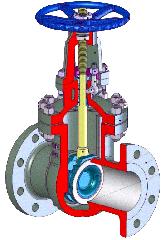 Задвижка клиновая S14(PN6-10), S38(PN16-250),