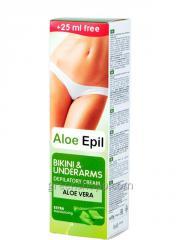 Aloe Epil (Aloe Epil) - krém szőrtelenítés