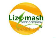 Рейка 3100мм для монтажа солнечных панелей Liz-mash