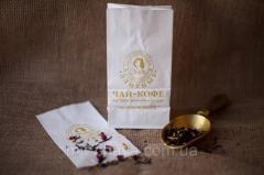 Bag tea/coffee, paper for packaging