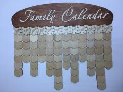 "Family calendar of ""Family Calendar 2D"