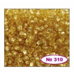 Бисер 10/0 № 17020 / 310 (блестящий) (код: 10-310-17020)