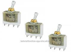 TB1-1M, TB1-2M, TB1-4M toggle-switch