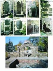 Памятники гранитные, плиты гранитные, брусчатка