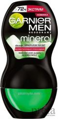 Roll-on deodorant Garnier 50 of ml male Miner. Extreme