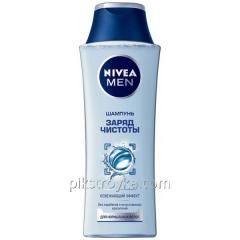 Šampon 400 ml NIVEA for men Charge čistoty...