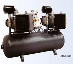 Vacuum station VACUUMATTEIS