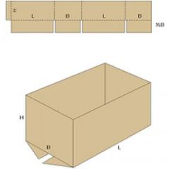 Короб без верхних клапанов