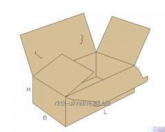 Гофрокоробка с четырехплапанным дном