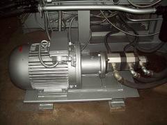 Насосная установка к термопластавтомату ДЕ