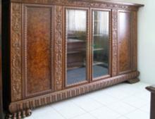 Антикварный Книжный шкаф, Мебель антикварная,