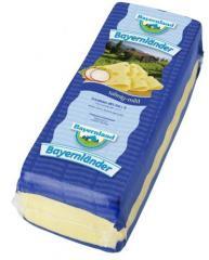 Сыр твердый Маасдам БЕЗ ЛАКТОЗЫ! (Maasdam) 48%, Германия (BAYERNLAND)
