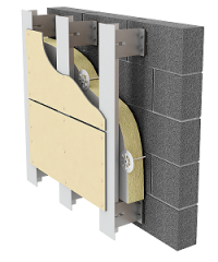 Система навески вентилируемого фасада «Комрад»