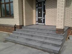 Лестницы,ступени из гранита.Гранитное крыльцо
