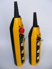 Пульт радиоуправления грузоподъемным оборудованием