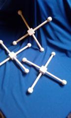 Крестовина с заглушками 26 см