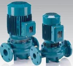 Multirow pumps Calpeda, Italy