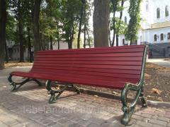 Садово-парковая скамья