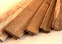 Plinth wooden