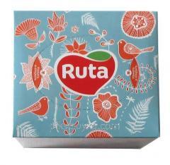 Салфетки косметические в коробке Ruta 80шт...