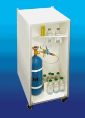 Металлическая тумбочка под озонатор «Озон УМ-80» и