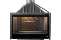 Chimney fire chamber of SEGUIN VISIO 7 BLACK LINE