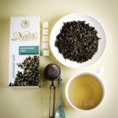 Elitní zelený čaj oolong čaj s mlékem 100 g.