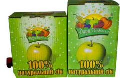 Apple 100% natural juice to wholesale yabluchny
