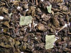 Чай зеленый Зеленый с мятой, 0,5кг.