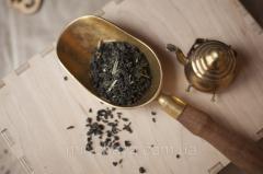 Чай зеленый ароматизированный Китайский лимонник,