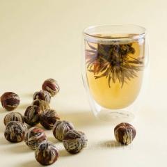 Чай белый вязаный Серебряная клубника, 0,25кг.