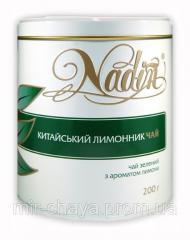Чай зеленый рассыпной с добавками ТМ Nadin