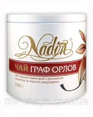 Чай чёрный рассыпной с добавками ТМ Nadin Граф