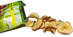 Яблочные чипсы, яблочные чипси купить оптом от