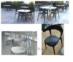 Стулья для террасы, кафе, ресторана, летняя мебель