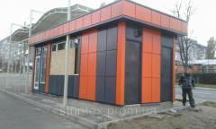 Stalls, pavilions