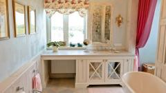 Exclusive wooden furniture for bathrooms