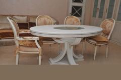 Эксклюзивные столы и стулья из дуба