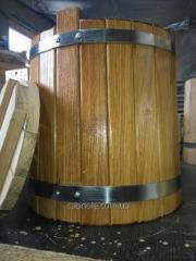 Wooden barrel for salting, 10 l.