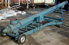 Feeder inclined mobile PNP-250 for loading of bulk