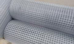Сетка заборная сварная оцинкованная 76х12х2,5 мм