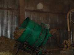 Grinders for straw