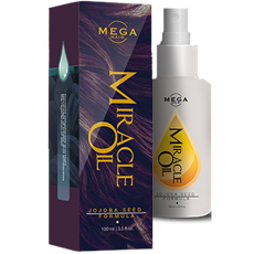 Mega Hair Miracle Oil (Mega Miracle Oil örökös) - hajlakk