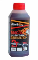 Масло BlackStar для 2-тактных двагателей 0,...