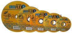 Диск 125*1.0*22,2мм отрезной по металлу BLACK STAR UKRflex (25шт) 12-12510
