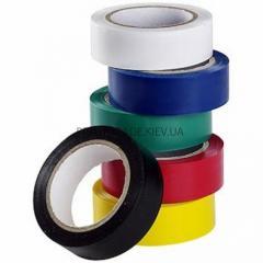 Изолента 50м (10 шт) цветное ассорти ПТ-3131