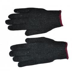 Перчатки серые без ПВХ точки плотные (12/600шт)
