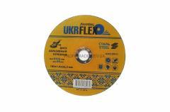 Диск 180*1.6*22,2мм отрезной по металлу BLACK STAR UKRflex (25шт) 12-18016
