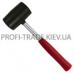 Киянка резиновая 900г 90мм, черная резина, металл. ручка HT-0233