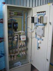 Система управления и защиты электродвигателей